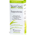 Yeast•Gard Advanced™ Homeopathic Suppositories