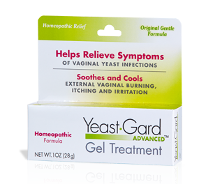 Homeopathic Gel - for feminine burning, itching and irritation ...